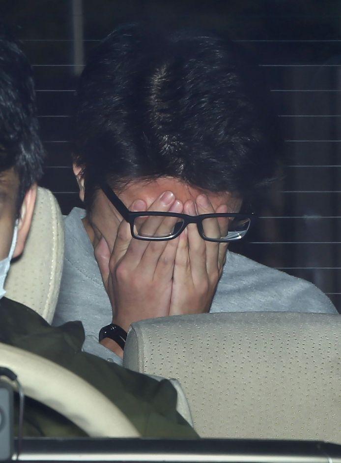 Takahiro Shiraishi na zijn arrestatie in 2017.