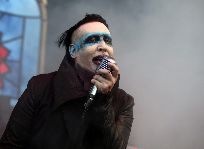 Marilyn Manson. Beeld European Press Agency (EPA)