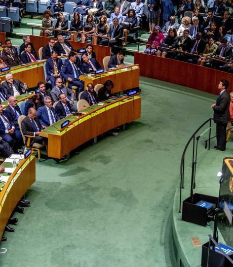 Hoongelach bij VN voor zichzelf ophemelende Trump