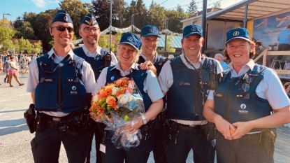"""Eerste vrouwelijke agent Overijse met pensioen: """"Nu het eerste jaar Druivenfeesten zonder Chris waren aangebroken, gaan de feesten niet door. Symbolischer kan het niet zijn"""""""