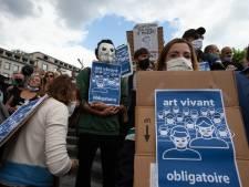 """Le secteur événementiel manifeste à Bruxelles: """"On attend des mesures autres que moyenâgeuses"""""""