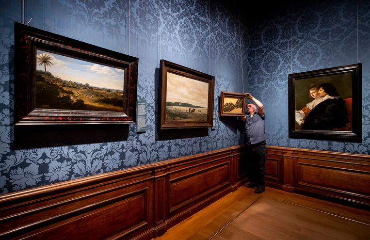 PvdD, Bij1 en SP willen dat alle rijksmusea, waaronder het Mauritshuis, gratis toegankelijk worden. Beeld ANP