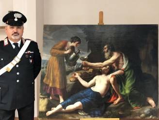 Door nazi's gestolen schilderij na 77 jaar teruggevonden in Italië