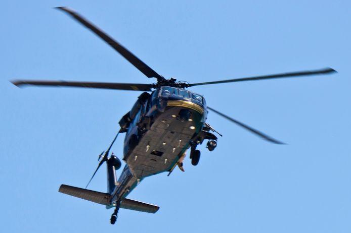 Foto ter illustratie, niet de helikopter in kwestie.