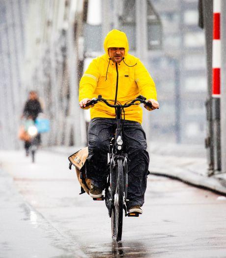 In NH, Flevoland en Friesland vandaag evenveel regen als gemiddeld in april