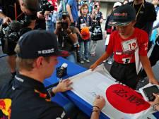 Verstappen op podiumjacht in knotsgek Japan