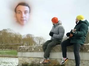 Objectif atteint: les YouTubeurs Mcfly et Carlito vont pouvoir tourner une vidéo à l'Élysée avec Macron