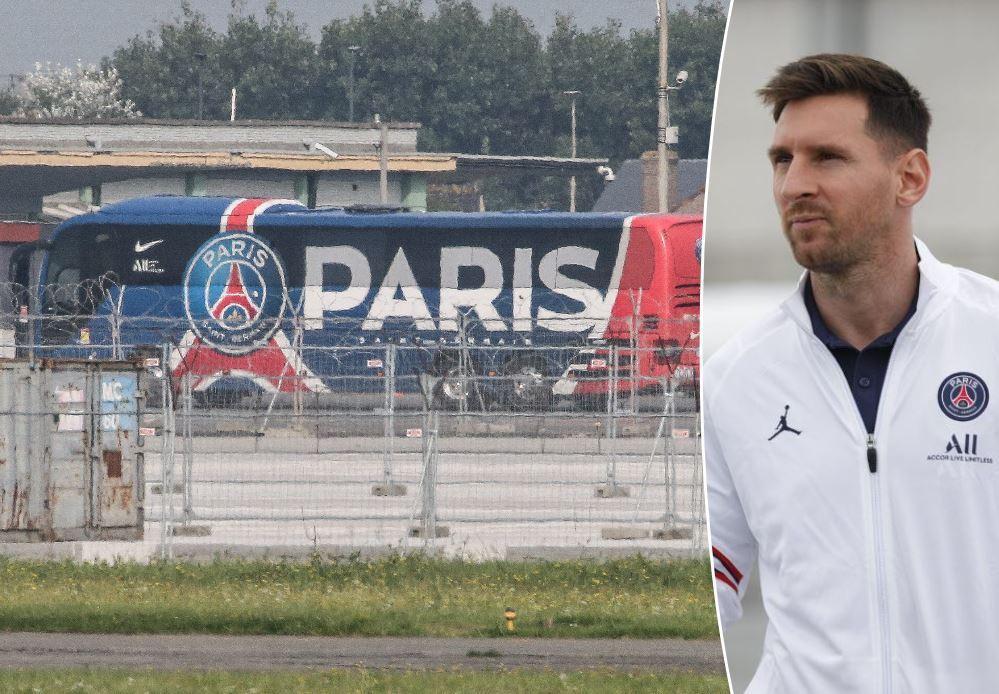 Lionel Messi a atterri en Belgique avec ses coéquipiers parisiens. L'Argentin disputera pour la toute première fois un match sur le sol belge, mercredi soir, à Bruges.
