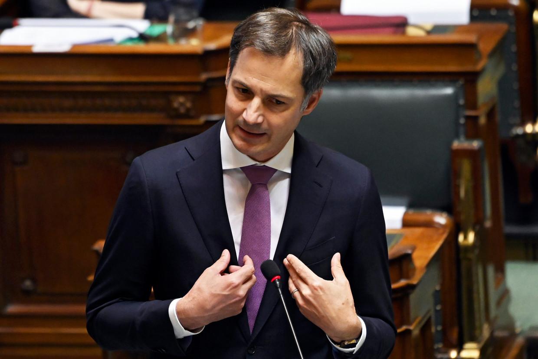 'Haat is geen mening', stelde premier Alexander De Croo (Open Vld) vorige week in de Kamer. Mooie quote, maar wel een beetje orwelliaans. Beeld Photo News