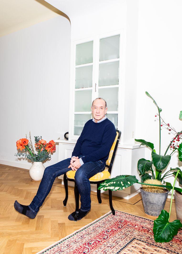 Peter Römer: 'Als je als scenarioschrijver optv 30procent terugziet vanwat je schrijft, mag je blij zijn.' Beeld Hilde Harshagen