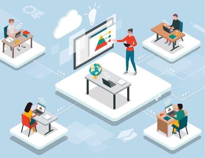 Scholen gaan over op online open dagen.