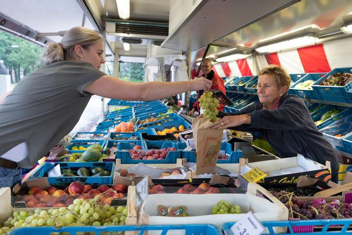 Ook groenteboer Van den Heuvel uit Schijndel heeft zich aangemeld voor een standplaats in Wijbosch.