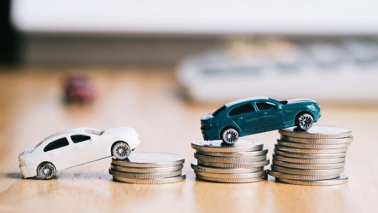 In vijf jaar is het geleende bedrag voor een nieuwe auto met een kwart gestegen. Beeld Shutterstock