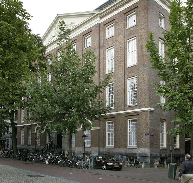 Het Universiteitsgebouw van de UvA, het Maagdenhuis. © ANP Beeld