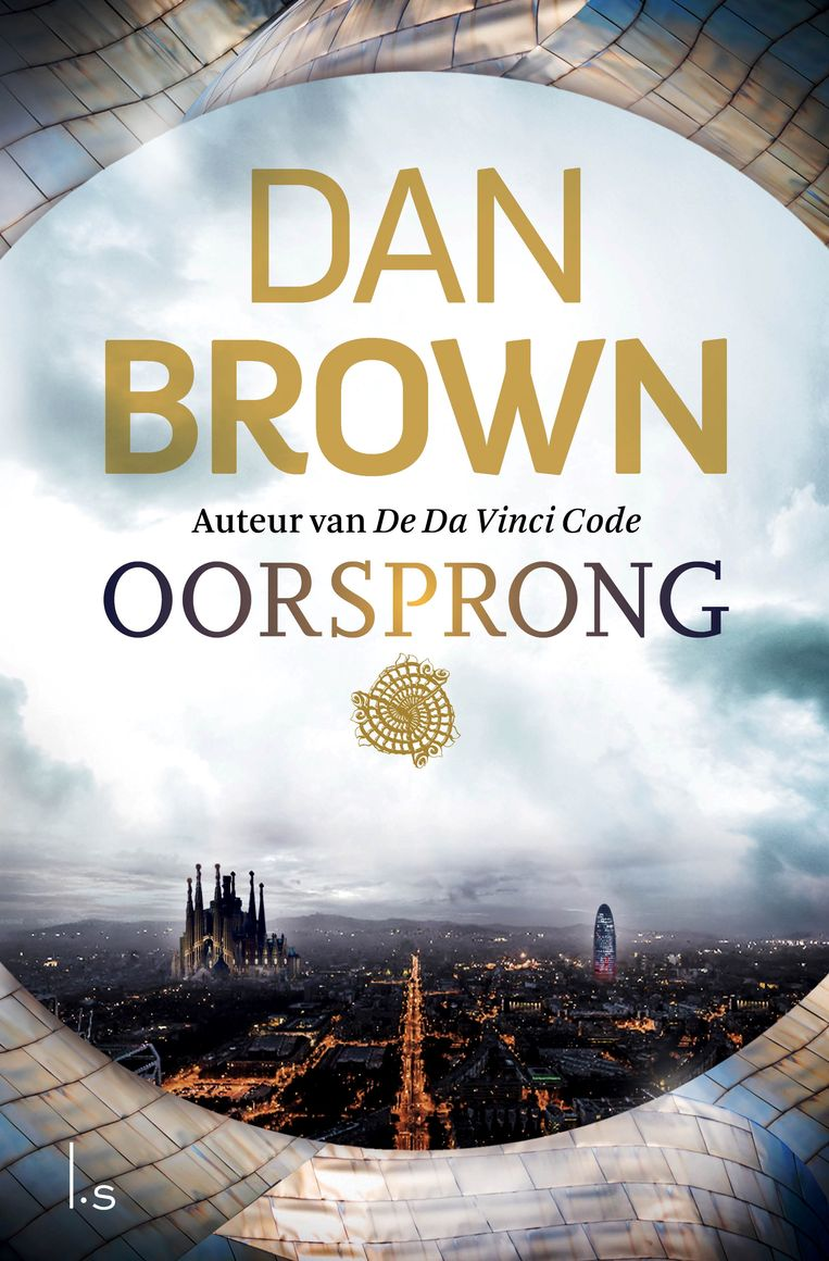 'Oorsprong' van Dan Brown. Beeld rv