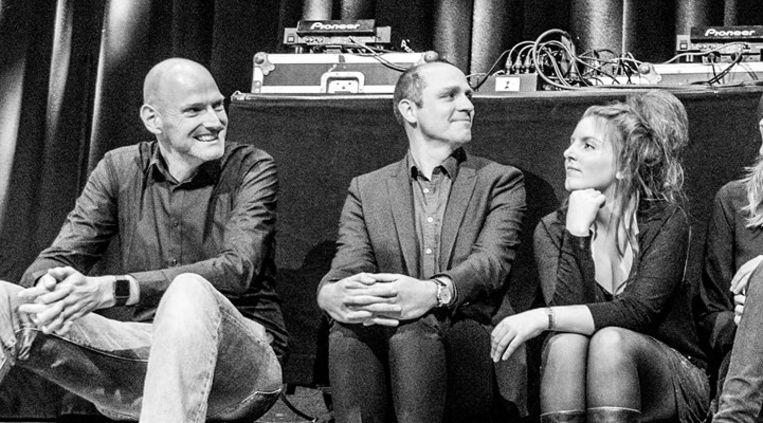 Walter van den Berg, Jelle Brandt Corstius en Lize Spit zijn niet welkom op het Boekenbal. Beeld Das Mag