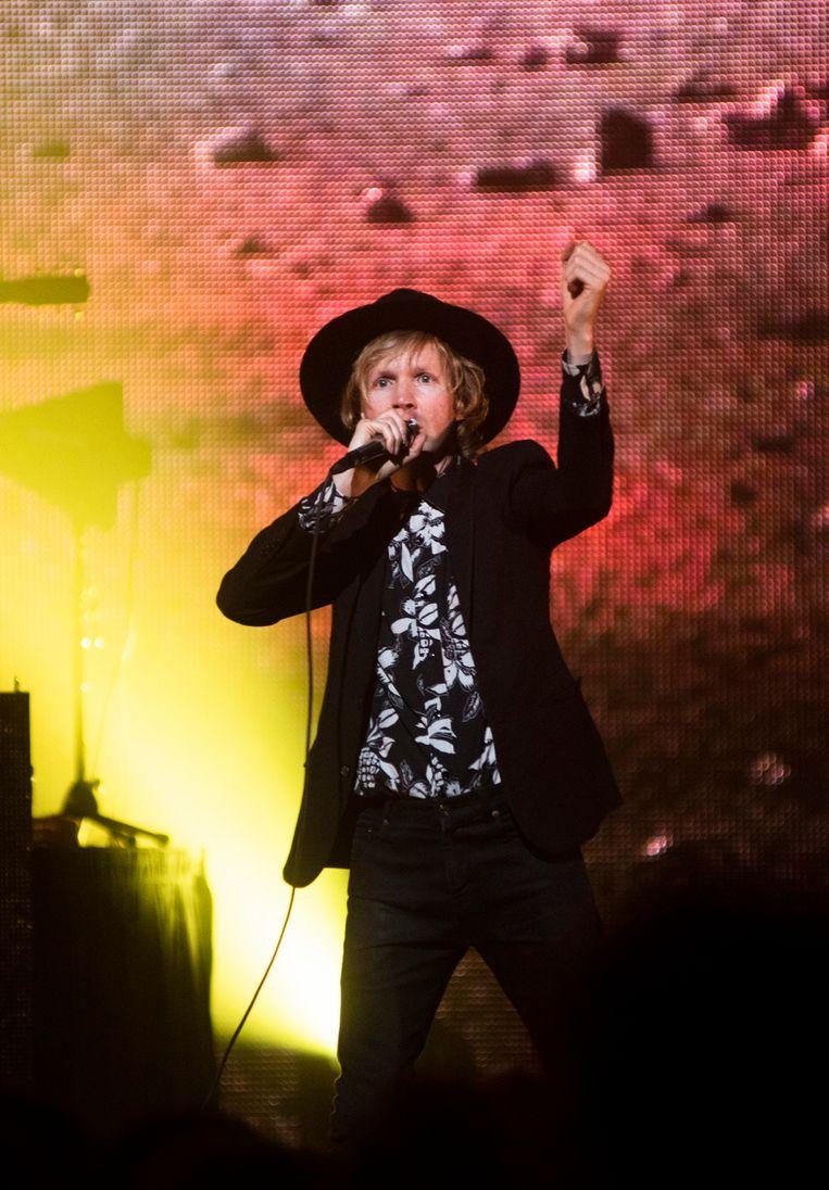 Beck in de AB: de perfecte soundtrack bij een losgeslagen feestje in de bars langs de Sunset Strip.  Beeld Alex Vanhee