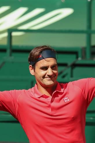 Federer wint eerste match op gras sinds Wimbledon 2019