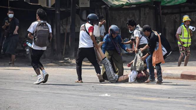 Bloedigste dag in Myanmar: maar liefst 38 demonstranten gedood