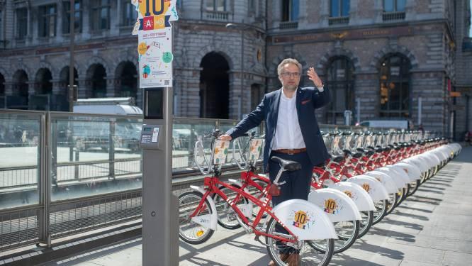 """Schepen Koen Kennis (N-VA) niet zo wild van 'fietsstraat': """"Haal tegen 2024 openbaar vervoer weg van Turnhoutsebaan én maak er dán een breed en veilig fietspad"""""""