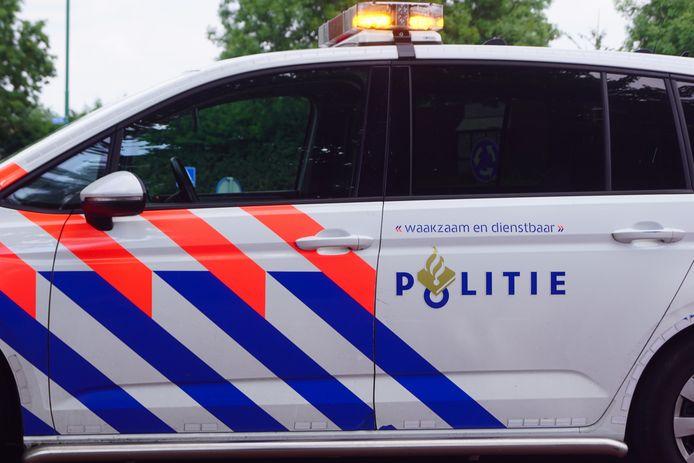 Een politieauto ter illustratie