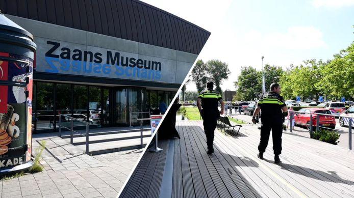 Het Zaans Museum werd 15 augustus overvallen.