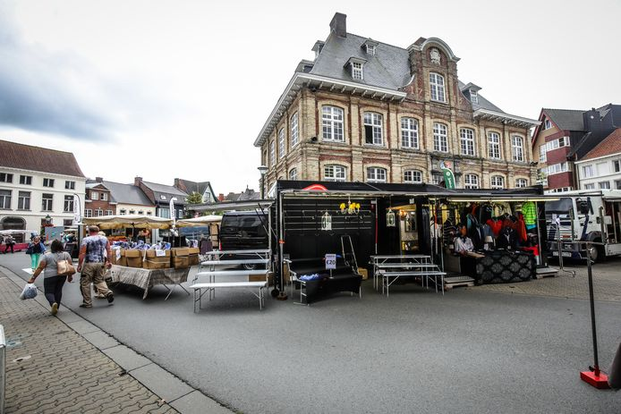 De Markt in Torhout wordt heraangelegd: veel handelaars zullen de wekelijkse markt hard missen