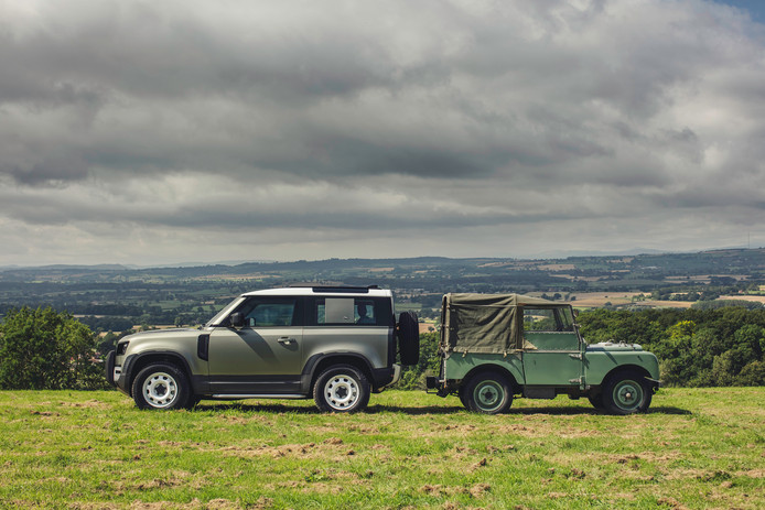 De originele Defender (die toen nog Land Rover Series heette) stamt uit 1948