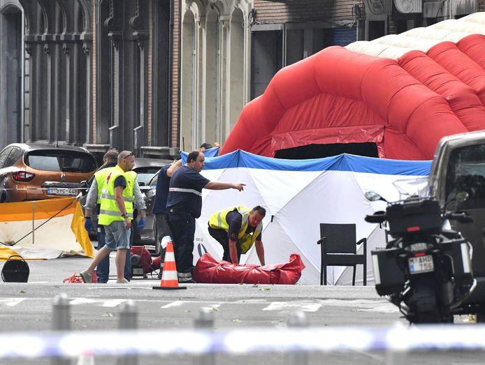 Het onderzoek naar de schietpartij is overgedragen aan het federaal parket.