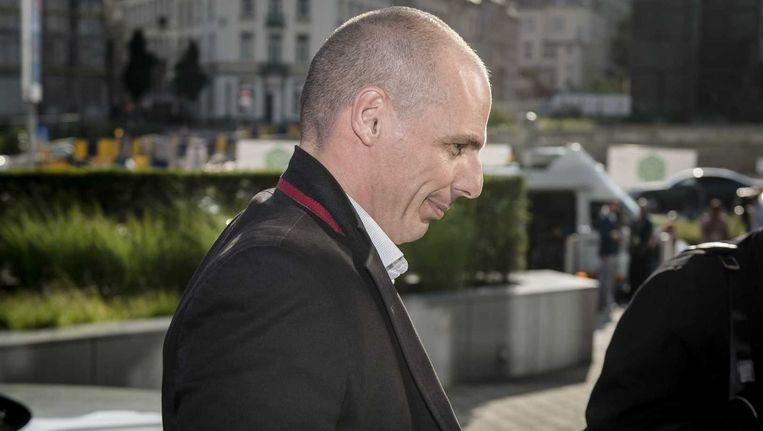 De Griekse minister van Financiën Yanis Varoufakis. Beeld ANP