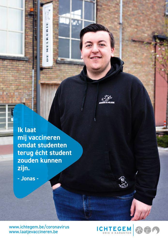 Zes inwoners van Ichtegem spelen een hoofdrol in een nieuwe vaccinatiecampagne: Jonas