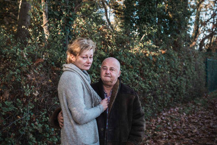 """Joanna en Marcel gingen vier jaar geleden uit elkaar. """"Het is precies alsof Kacper ons nu, door hetgeen gebeurd is, terug bijeen heeft gebracht."""" Beeld Karolien Coenen"""