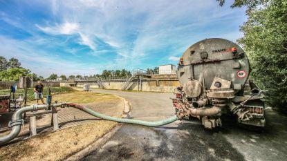 Ieper besproeit voetbalvelden met gezuiverd afvalwater van Aquafin