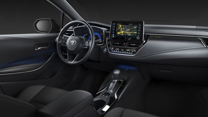 Het interieur van de bestverkochte auto ter wereld.