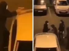 Scènes de guerre et affrontements entres bandes rivales à Valence, des CRS déployés sur place