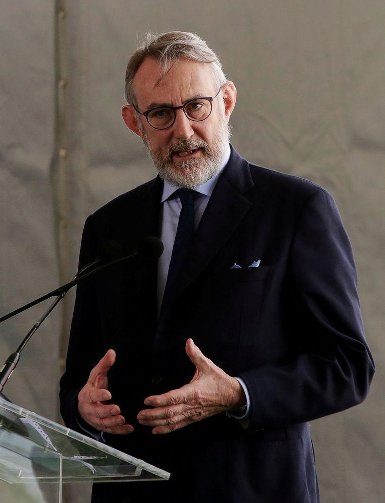 Jean François van Boxmeer. Beeld REUTERS