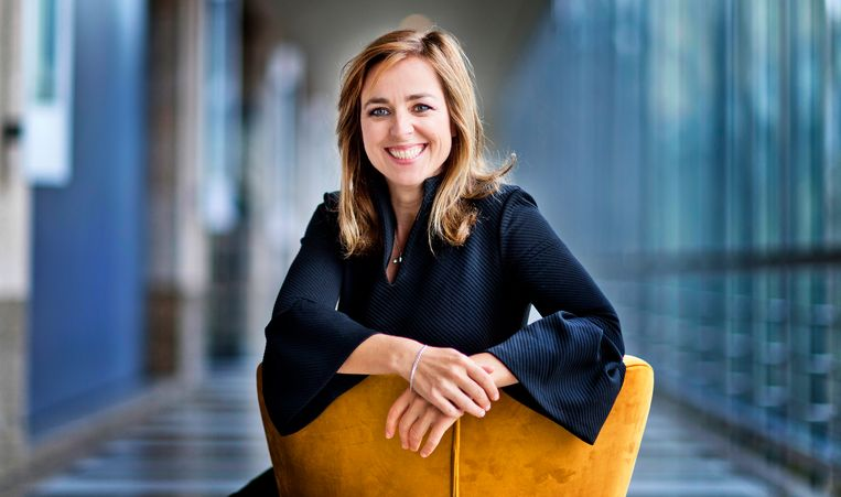 Marianne Thieme.  Beeld Hollandse Hoogte / Guus Schoonew