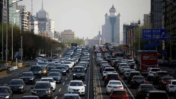 Chinese autoverkoop in één jaar met 17 procent gedaald
