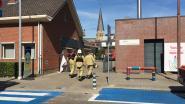 200 leerlingen even geëvacueerd na brandje