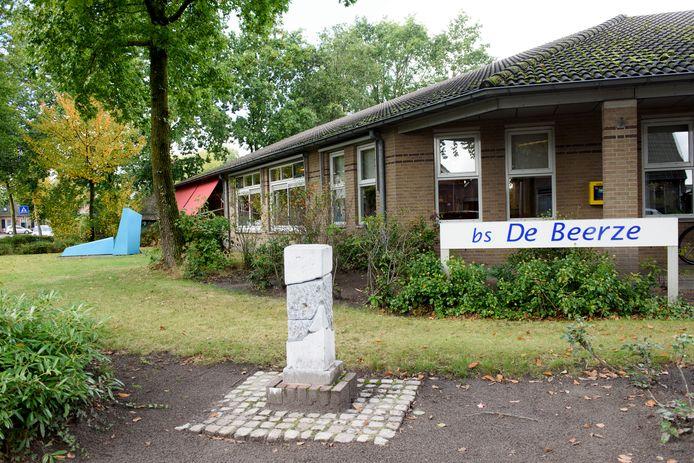 De vestiging van basisschool De Beerze in Oostelbeers. De leerlingen zullen per 2022 overgaan naar de vestiging in Middelbeers.