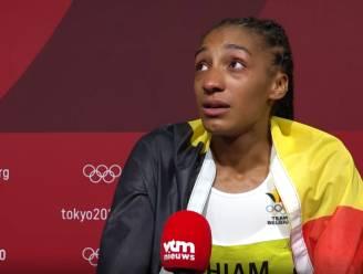 """Nafi Thiam tot tranen toe bewogen: """"Er is zoveel druk geweest, mentaal ben ik even op"""" - Vidts: """"Nooit van durven dromen"""""""