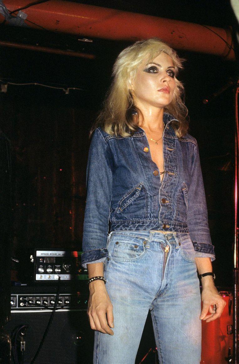 Debbie Harry in Levi's 505, 1973. Beeld null
