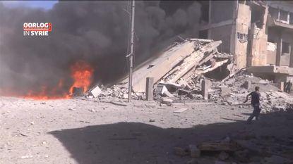 Rusland begint bombardementen in Syrië