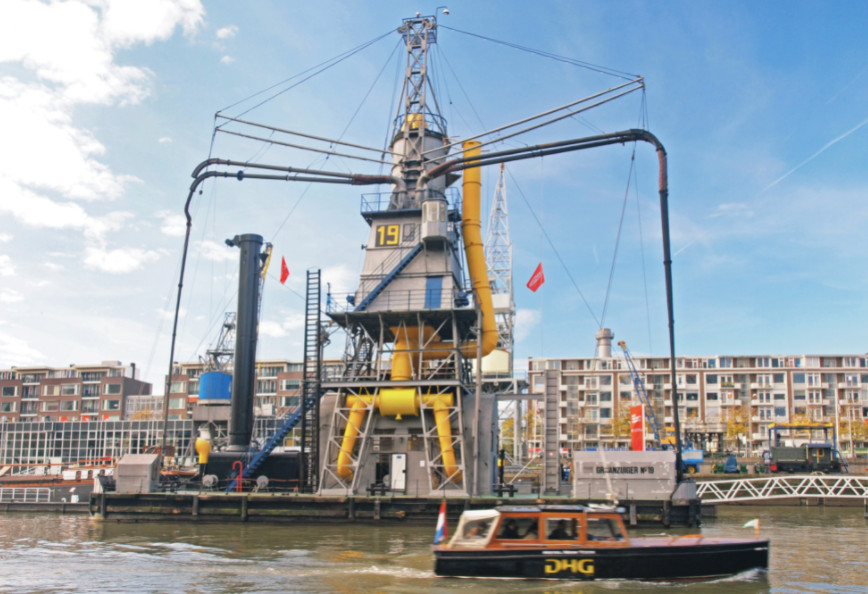 De Stadsgraanzuiger 19 in Rotterdam