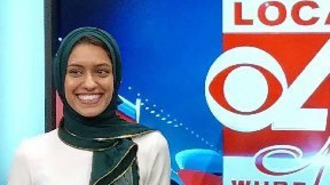 Primeur in de VS: vrouw met hoofddoek wordt reporter op mainstream tv-zender