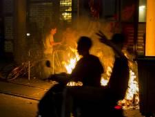 Weer harde confrontatie ME en relschoppers Den Haag