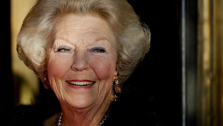 Vorige week was prinses Beatrix ook al in Amsterdam aanwezig, bij de slotviering van 200 jaar Koninkrijk der Nederlanden in theater Carre. Beeld anp