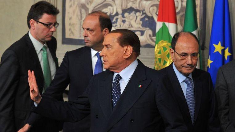 Politici in Italië maken zich op voor een nieuwe ronde van gesprekken in een poging uit de politieke impasse te geraken. Beeld afp