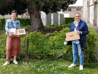 De gemeente verdeelt voor 20.000 euro aan laptops, chromebooks en tablets in alle scholen van Kruisem
