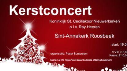 Kerstconcert van Pasar in Sint-Annakerk